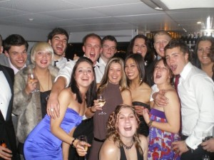 Aged 18, I was responsible for the hiring, firing and training of my team. Needless to say we smashed our bonus and were rewarded with a boat party through the centre of Melbourne! :)